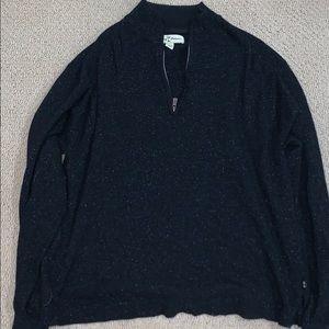 Men Tommy Bahama Quarter ZIP Sweater
